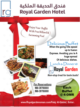 NEW OFFER FOR BUFFET